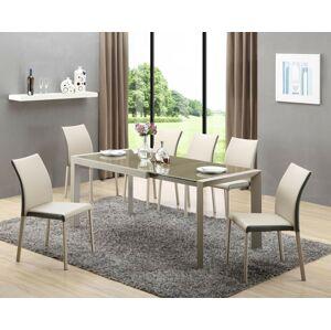 Halmar Jídelní stůl ARABIS, béžový/světle hnědý