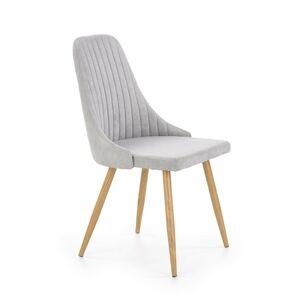 Halmar Jídelní židle K285, světle šedá