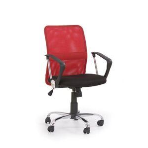 Halmar Kancelářská židle TONY, červená
