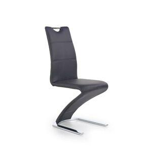 Halmar Jídelní židle K291, černá