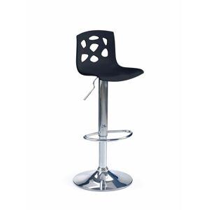 HM MÖBEL Barová židle H-48, černá