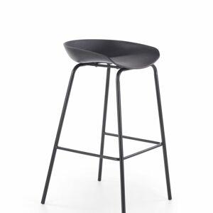 Halmar Barová židle H-94, černá