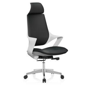 Halmar Kancelářská židle PHANTOM, černá/bílá