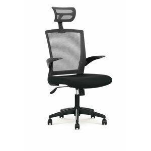 Halmar Kancelářská židle VALOR, černá/šedá