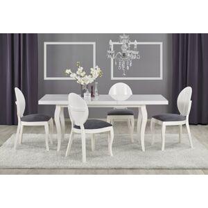 Halmar Jídelní stůl MOZART 160-240/90, bílý