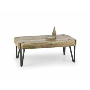 Halmar Konferenční stolek EMILY, černý/divoký dub