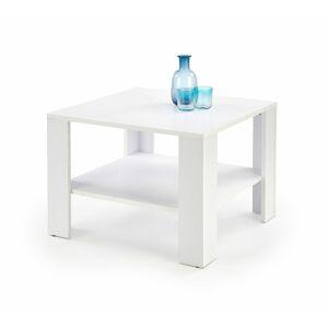 Halmar Konferenční stolek KWADRO, čtvercový, bílý