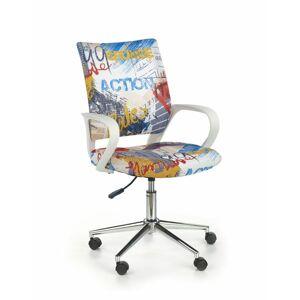 Halmar Dětská síťovaná židle Ibis Freestyle, vícebarevná