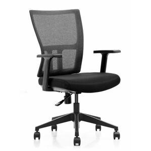 ADK Trade s.r.o. Kancelářská síťovaná židle ADK Mercury, černá