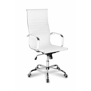 ADK Trade s.r.o. Kancelářská židle ADK Deluxe Plus, bílá
