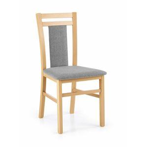 Halmar Jídelní židle Hubert 8, medový dub