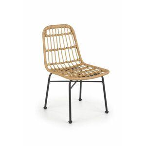 Halmar Ratanová židle K401