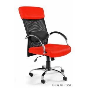 UNIQUE Kancelářská židle Overcross, červená