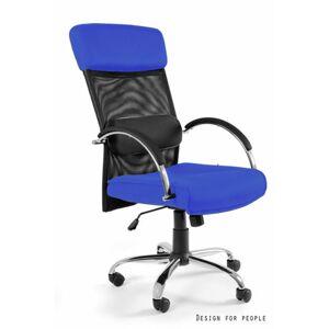 UNIQUE Kancelářská židle Overcross, modrá