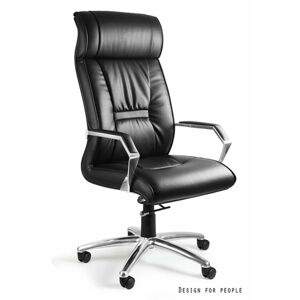 UNIQUE Kancelářská židle CELIO PU, černá
