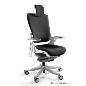 UNIQUE Kancelářská židle WAU 2, bílá základna/tkanina