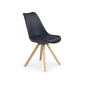 Halmar Jídelní židle K201, černá
