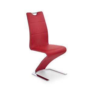 Halmar Jídelní židle K188, červená