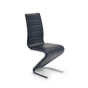 Halmar Jídelní židle K194, černá