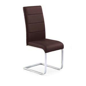Halmar Jídelní židle K85, hnědá