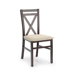 Halmar Jídelní židle DARIUSZ, tmavý ořech/VILA