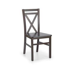 Halmar Jídelní židle DARIUSZ 2, tmavý ořech