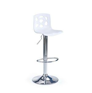 Halmar Barová židle H-48, bílá